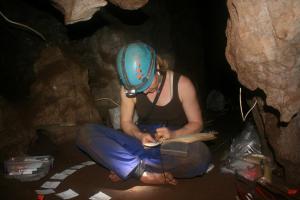 ME in cave BP